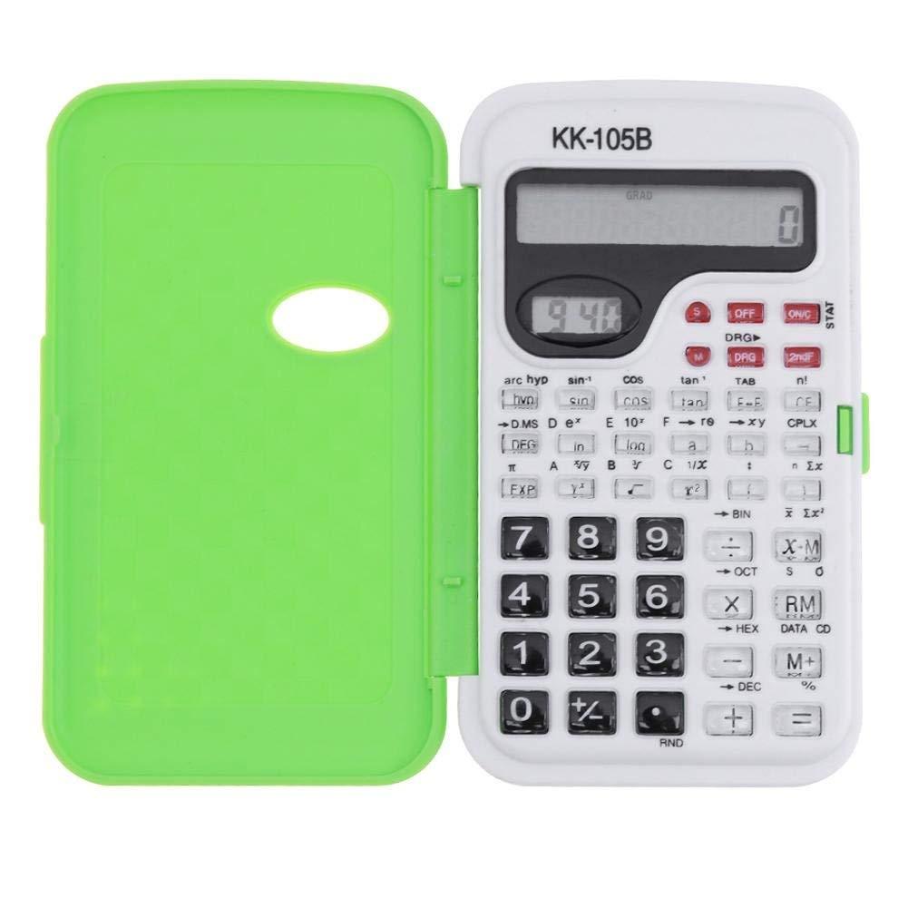 SAT//AP Calculate Counter 240 Funzioni e 2 Display LCD Linea per Ufficio Aibecy Calcolatrice Scientifica Medio Studenti Delle Scuole Superiori