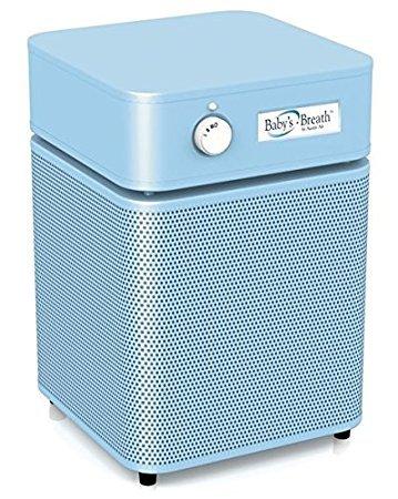 Austin Air HEPA Air Purifier (Jr. Unit) (Baby Breath HM205, Breath Blue)