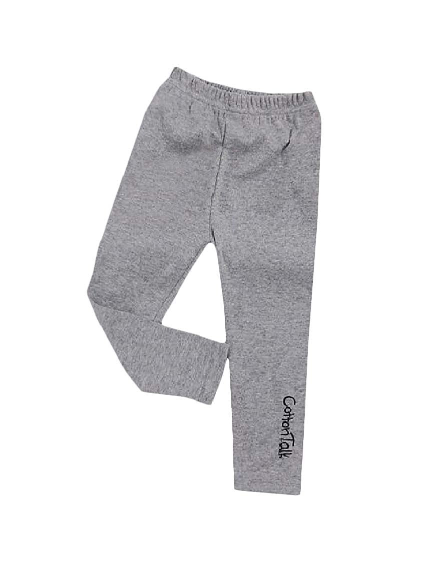 Lutratocro Girl Fashion Stretchy Cute Letter Solid Color Legging