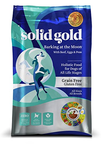 SOLID GOLD 937168 Barking at the Moon High Protein, Low Carb, Grain and Gluten Free Food for Adult Dog, 24 lb