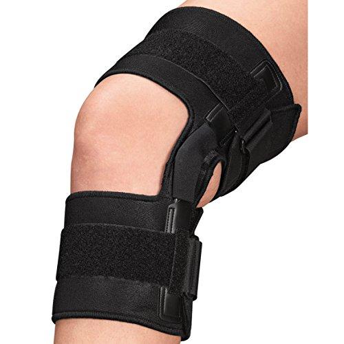 EasyComforts Knee Brace With Metal (Metal Knee Braces)