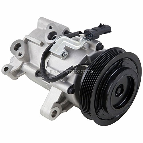 AC Compressor & A/C Clutch For Jeep Liberty Dodge Nitro 3.7L V6 - BuyAutoParts 60-01992NA ()