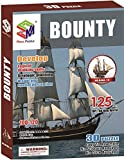 3d Puzzle Golden Hind B468-18 Cubicfun magic puzzle 108 Pieces Fun to Build and feel accomplished by magic-puzzle