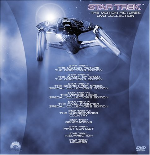 Star Trek - The Motion Pictures Collection (10 Films) by Paramount