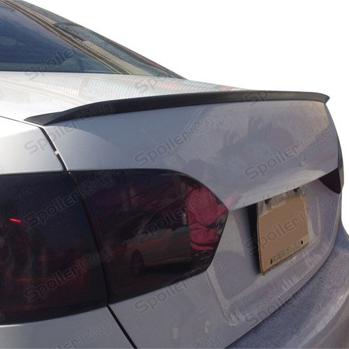Vw Jetta Trunk Wing - Spoiler King Trunk Lip Spoiler compatible with Volkswagen VW Jetta VI 2011-2018 (244L)