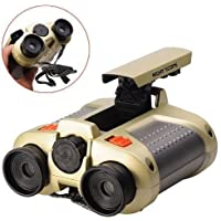 Hetkrishi Night Scope Toy Binocular with Pop-Up Light for Kids