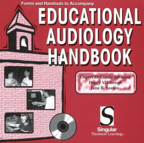 Educational Audiology Handbook: CD-ROM