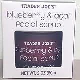 Trader Joe's Blueberry and Acai Facial Scrub, 2 Oz Jar