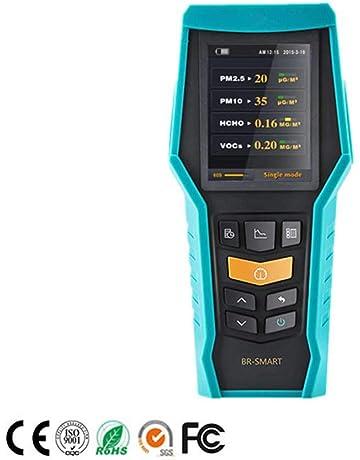 LDRAGON Detector De Formaldehído Inicio Professional PM 2.5 Benceno VOC Detector Doble Platino Catalítico Electrodo Electroquímico