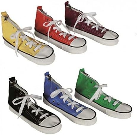 Zapatillas estuche – Estuche escolar, diseño de zapatilla Colegio Estuche: Amazon.es: Jardín