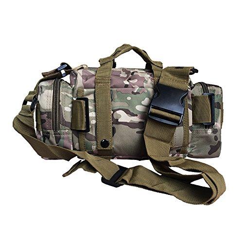 DIXIUZA militar táctico mochila pequeña mochila senderismo trekking Outdoor camping táctico Molle Pack hombres combate táctico bolsa de viaje Camuflaje CP