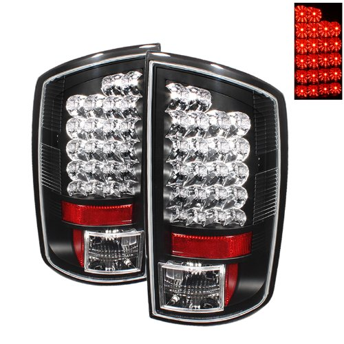Spyder Auto 111-DRAM02-LED-BK LED Tail Light