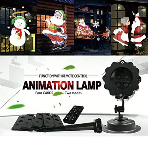 Projector Light, MatureGirl LED Projection Night Lamp, 12 Pattern Landscape Lamp Christmas Light Projector for Parties, KTV, Dance Halls, Clubs, Bars, Karaoke, Dance Floor (Multicolor) -