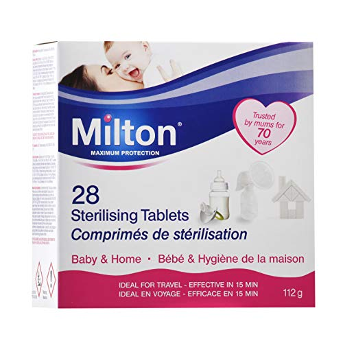 Milton Sterilising Tablets - Pack of 28 Tablets