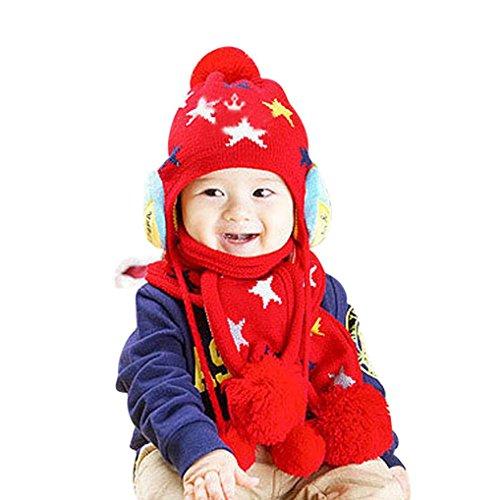 Baby Cute Cartoon Winter Fleece Soft Apron - 8