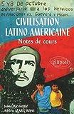 Image de Civilisation latino-américaine. Notes de cours