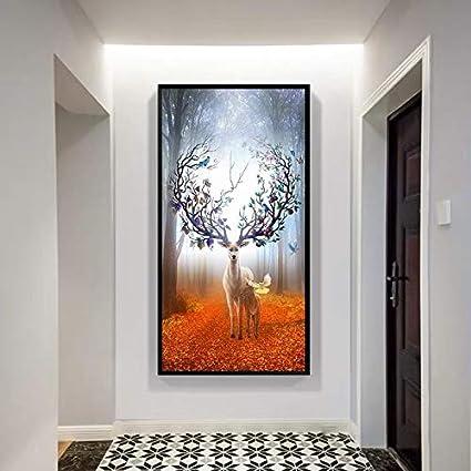 Décoration De La Maison Peinture Moderne Couloir Minimaliste ...