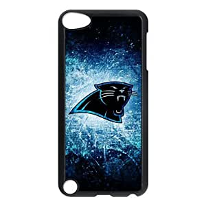 Creative NFL Carolina Panthers Ipod touch 5th Durable wear Hard Case Cover Ipod 5 Kimberly Kurzendoerfer