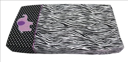 Sisi Baby Design Diaper Changing Table Pad Cover -Animal Planet Purple