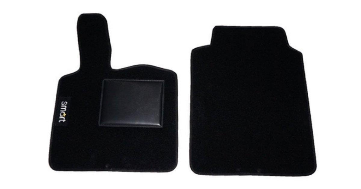 compatiblit/à MOD. 450-451 Senza Fix carmats Tappeti Tappetini Auto su Misura per Smart for Two dal 98al 2014