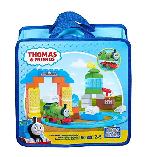 (Mega Bloks Thomas & Friends Sodor Wash Down Playset)