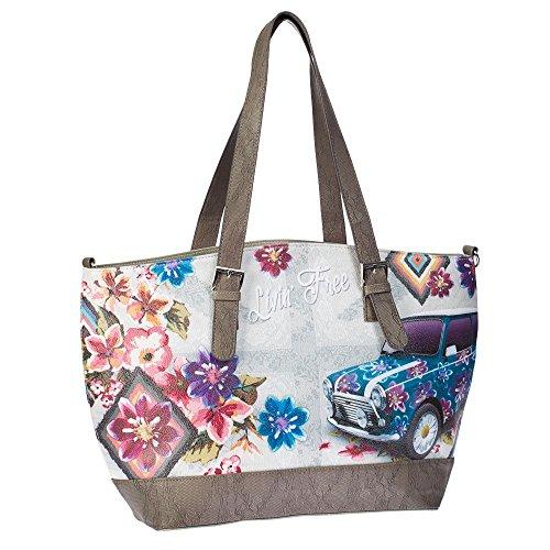 Borsa Donna Shopping Moonlight Livin Free N06077
