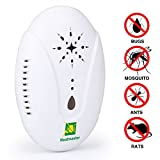 #5: Neatmaster Ultrasonic Pest Repellent - Electronic Pest Control Plug In-Pest Repeller for Insect - Mice , Roaches , Bugs , fleas , Mosquitoes , Spiders