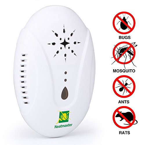#1 BEST SELLING ULTRASONIC PEST REPELLENT (MOSQUITOS, SPIDER, MICES, ETC)
