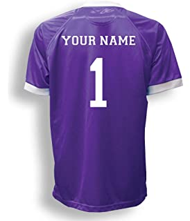 a0b58f2fe83 Short Sleeve Goalie Jersey Personalized with Your Name and Number (with  free keeper pin)