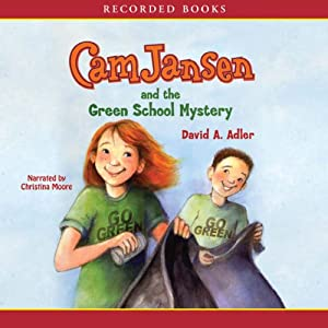 Cam Jansen and the Green School Mystery Audiobook