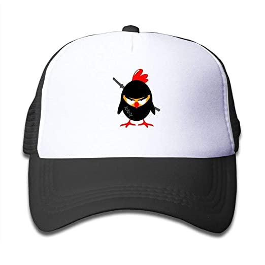 Amazon.com: Sun Mesh Baseball Caps Hat an Angry Ninja Fried ...