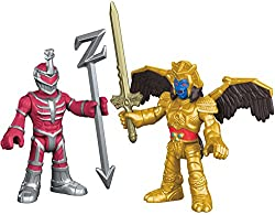Kids will love using these Lord Zedd and Goldar figures to re-enact battle scenes from their favorite Mighty Morphin Power Rangers TV shows and movies - or creating new ones of their own! Will the Power Rangers be able to protect the earth from these...