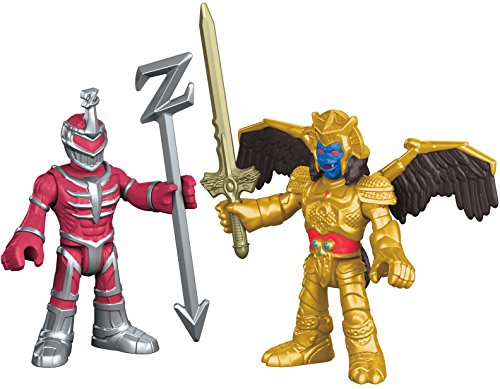 Fisher-Price Imaginext Power Rangers Goldar and Lord Zedd Action Figure (Power Rangers Helmet)