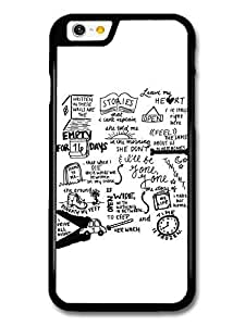 JD World ? One Direction Harry Styles Niall Horan Story of My Life Lyrics Illustration case for iPhone 6 (4.7 Inch)