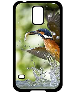 Valkyrie Profile Samsung Galaxy S5 case case's Shop 8262753ZE756976650S5 New Cute Kingfisher with fish Samsung Galaxy S5 Case Cover