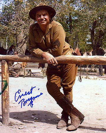 ERNEST BORGNINE (The Wild Bunch) 8x10 Male Celebrity Photo Signed In-Person from Iconographs