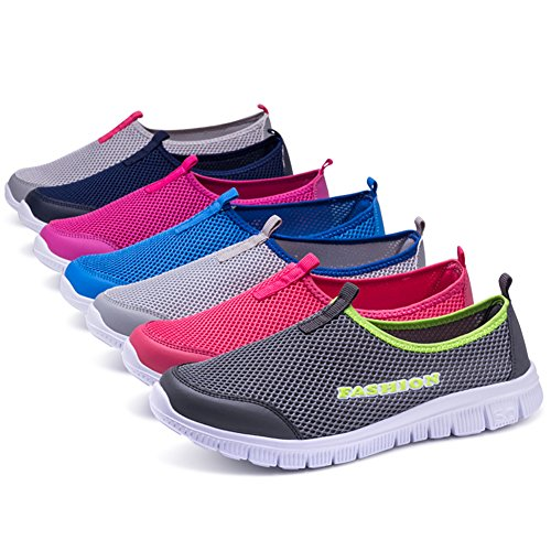 42 Interior Unisex Sneakers All'aperto Running Scarpe Sportive Fitness 001 Lightgray KJJDE AKXY Casual 74S6q4