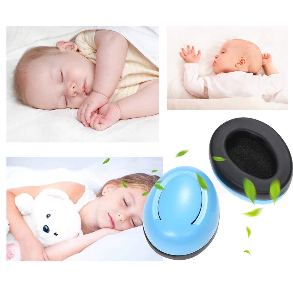 Decdeal Baby Ohrensch/ützer Neugeborene Geh/örschutz L/ärmschutz f/ür 0-2 Monate Baby Super Weichem Kopfb/ügel