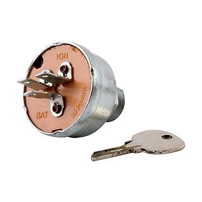 60736C1 Ignition Switch w/Key fits Cub Cadet 100 102 122 123 Lo Boy 154 184 185: Industrial & Scientific