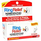 TRP COMPANY RING RELIEF,FAST DISSOLVE, 70 TAB, (PACK OF 2)