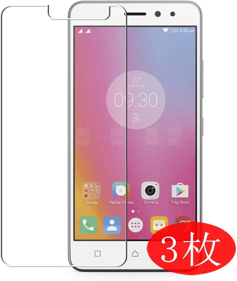 【3 Pack】 Synvy Screen Protector for Lenovo K6 Power TPU Flexible HD Film Protective Protectors [Not Tempered Glass]