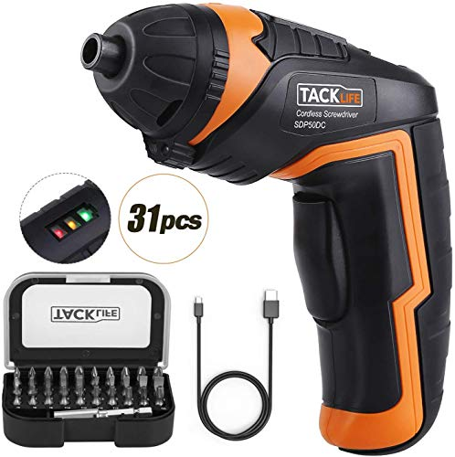 TACKLIFE Cordless Screwdriver Electric
