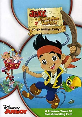 Amazoncom Jake The Never Land Pirates Yo Ho Mateys Away Jake