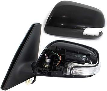 08-12 Nissan Altima Sedan Side Mirror Power Heated Signal Lamp Driver Left