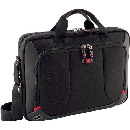 1ab68d4a8 Jasper SwissGear 16-Inch Laptop Case - Black: Amazon.co.uk: Computers &  Accessories