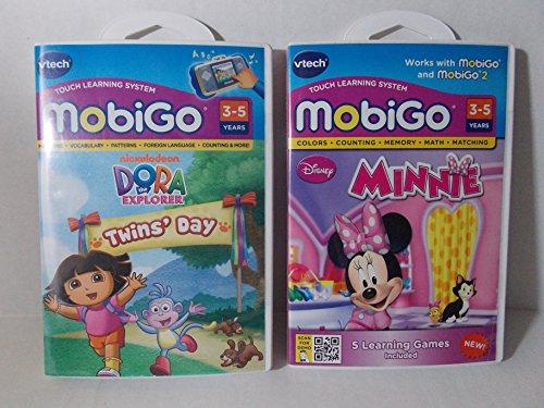 - Vtech MobiGo 2 Cartridge Bundle ( Minnie and Dora the Explorer )