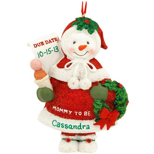 "Kurt Adler ""Mommy To Be"" Christmas Ornament"