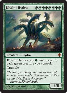 Magic: the Gathering - Khalni Hydra - Rise of the Eldrazi - Foil