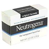 Neutrogena Transparent Facial Bar Soap 3.5 Oz (Pack of 8)