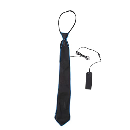 LEDMOMO LED Light Up Ties Intermitente Accesorio de Vestuario de ...